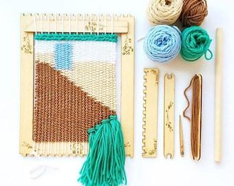 Weaving Kit: Pop Out Loom & Tools//DIY//Crafts//Beginner