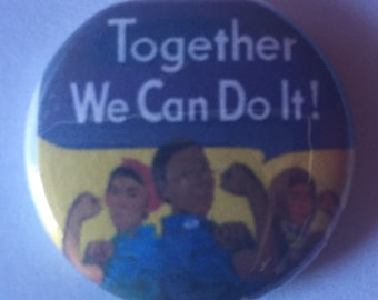 Together we can do this button. Protest