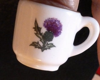 Vintage Mini Thimble Mug/Cup Scotland  Souvenir