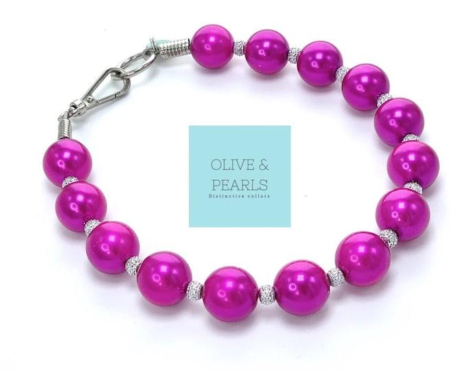 "The ""Octavia"" Pearl Dog Collar"