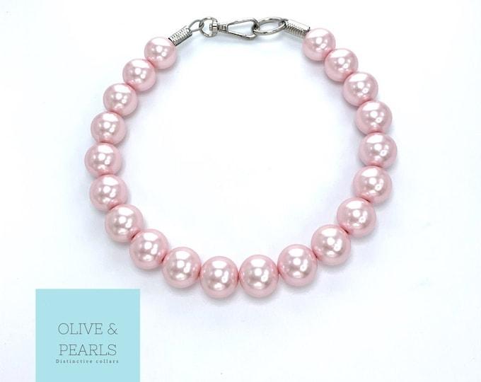 "The ""Blythe"" Pearl Dog Collar"