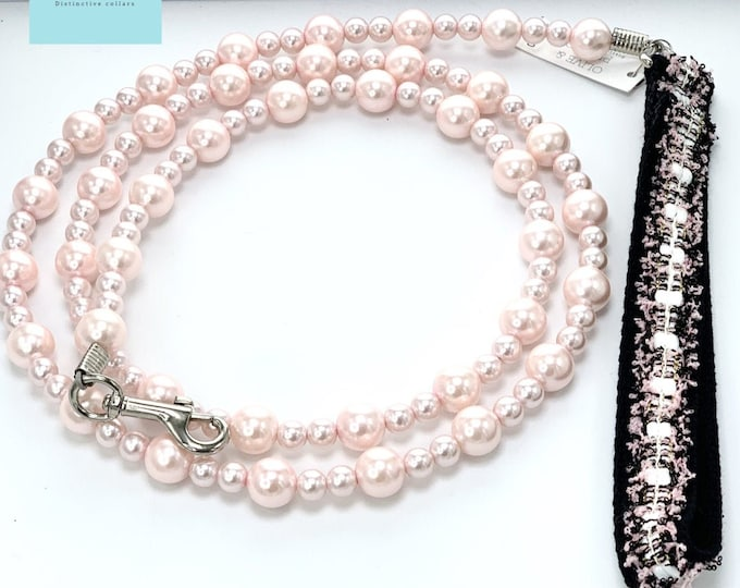 "The ""Sabrina"" Pearl Dog Lead"