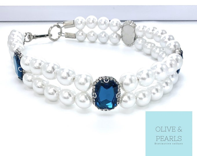 "The ""Claudia"" Pearl Dog Collar"