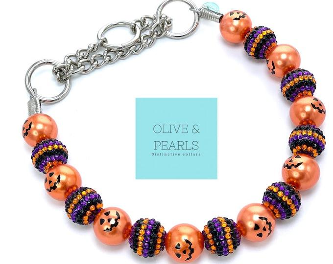 "The ""Glinda"" Pearl Dog Collar"