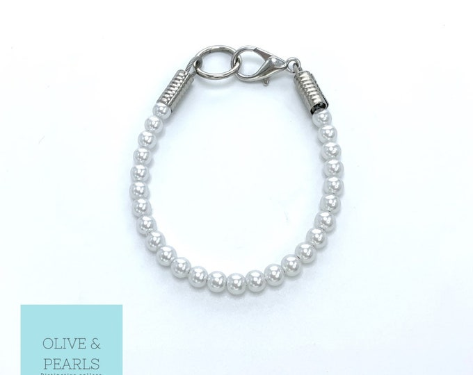 """The """"Itsy"""" Pearl Dog Collar"""