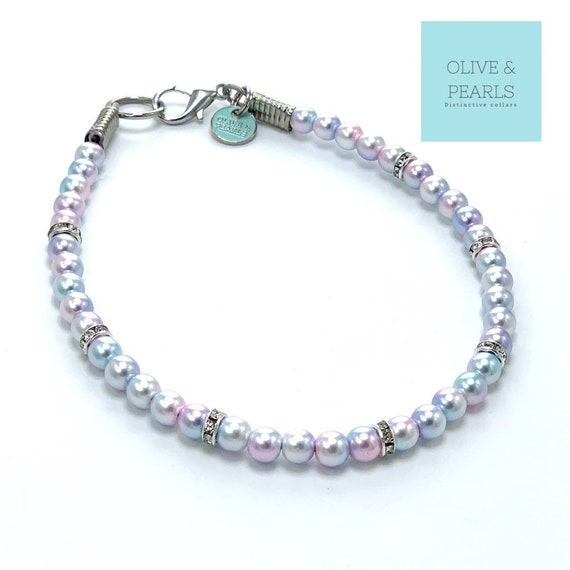 """The """"Bitsy"""" Pearl Dog Collar"""