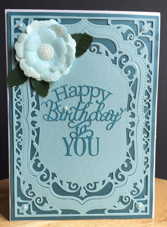 BFF Sister Card Handmade Greeting Card Birthday Card Birthday Card for Mom