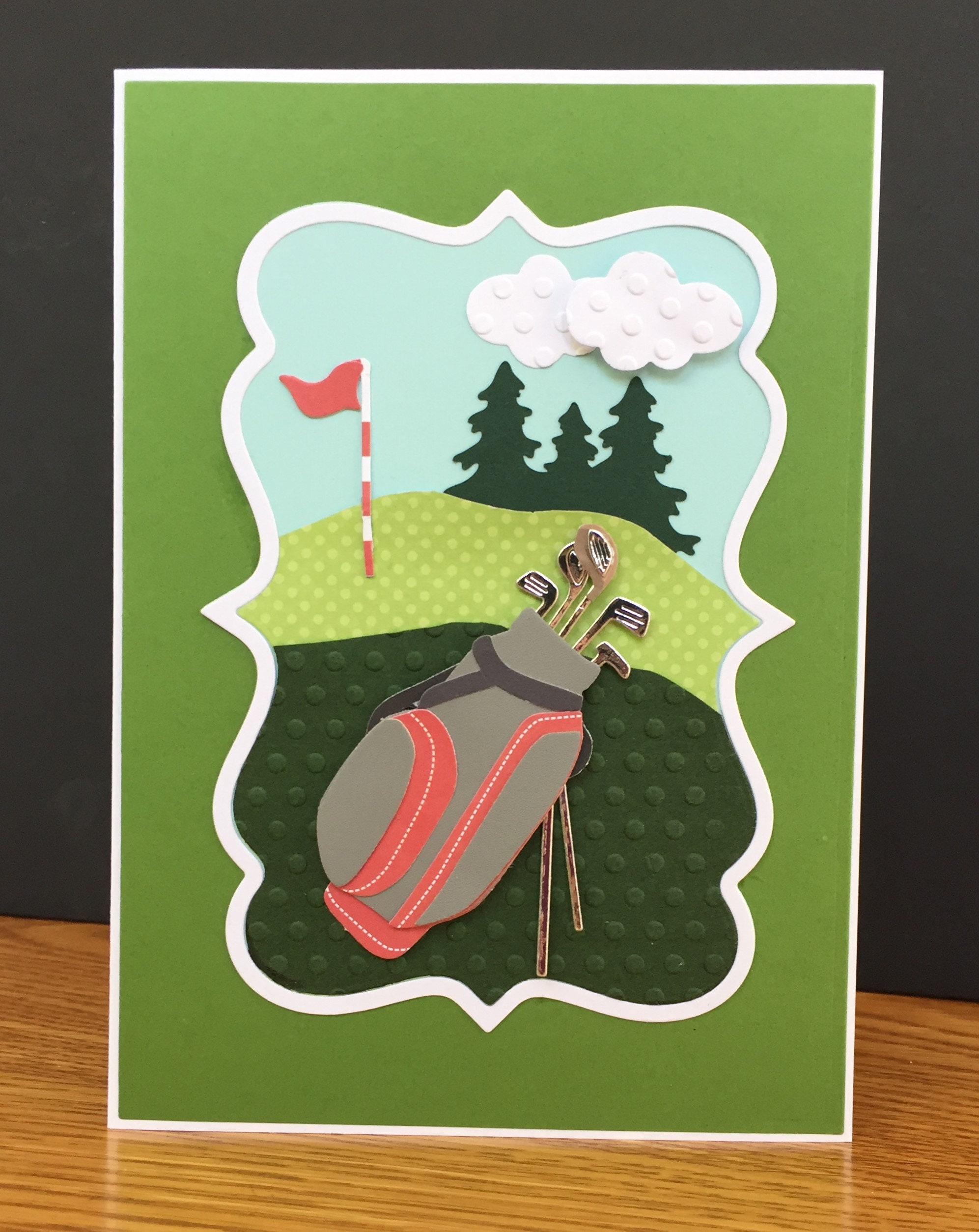 Golf Theme Handmade Happy Fathers Day Mothers