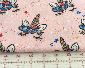 American Unicorn Pink Red White Blue | Liverpool | in stock, ready to ship, custom fabric, 2 way stretch Bullet