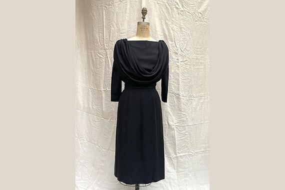 Vintage 60's Dress / 1960's Dolce Vita Dress / 60'