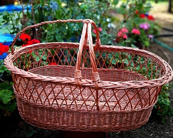 Handwoven Willow Baskets Home Decor And Par Willowsouvenir Sur Etsy