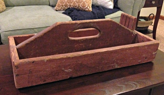 Superb Tool Box And Storage Bin Farmhouse Joanna Gaines Style Centerpiece Coffee Table Storage Magnolia Style Americana Primitive Shabby Bralicious Painted Fabric Chair Ideas Braliciousco
