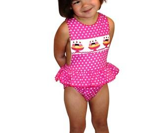 Costumi Da Bagno Per Bambini : Articoli simili a costume da bagno per bambina bikini cotone vicky