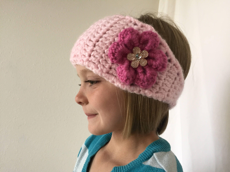 Pattern Only Crochet Headband Crochet Earwarmer Adult And Etsy