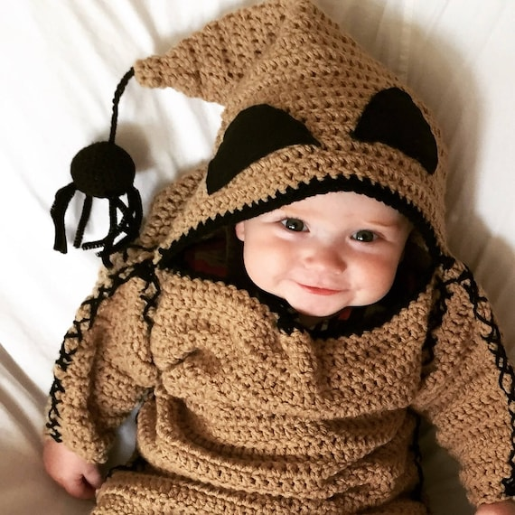 PATTERN ONLY INFANT Oogie Boogie Monster Costume Pattern | Etsy