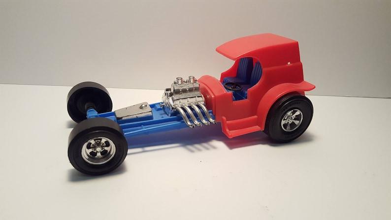 Vintage Durant Plastics Rod N Rail Dragster Toy