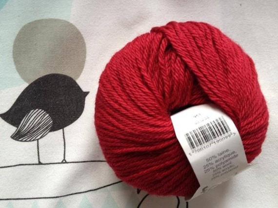 WOOL red Basque - Fonty SPORTNYL