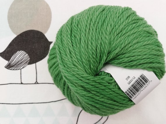 NUMBER 5 spring - Fonty green wool