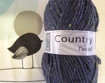 WOOL TWEED jeans - white horse COUNTRY