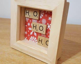 Ho Ho Ho Christmas frame