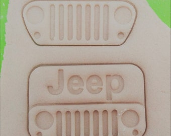 Willy/'s Jeep cookie and fondant cutter US SELLER!!