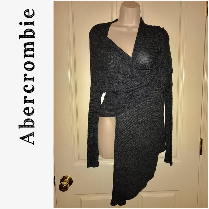 Abercrombie Fitch Lace Duster Cardigan Sweater Jacket Top