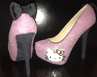 Hello Kitty Glitter Heels 6fb30dc4b13b