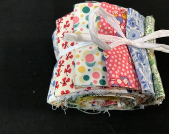 """1930s reproduction Fabric - 2 1/2"""" Strips Jelly Roll"""