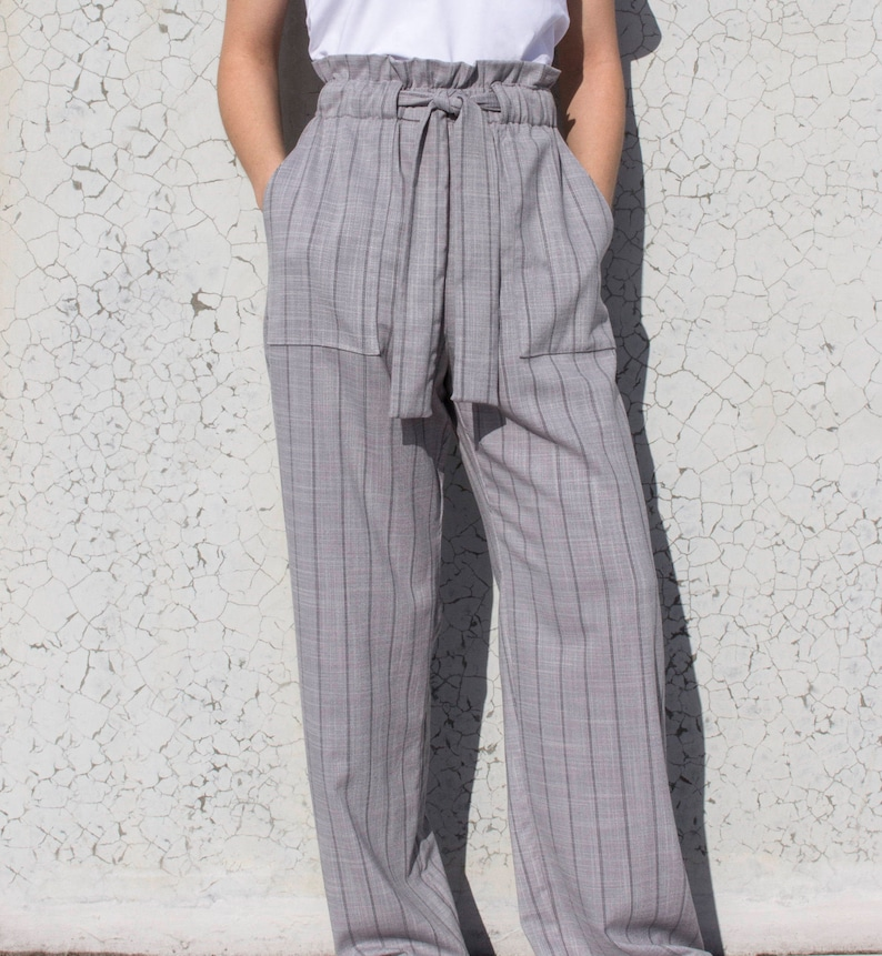 Thea Paperbag Pant Sizes 10 12 14 PDF sewing pattern for  60404517ac74