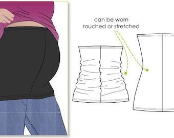 Maternity Bandeau - Sizes 16, 18, 20 - Women's Sewing Pattern - Bandeau tube PDF Sewing Pattern by Style Arc