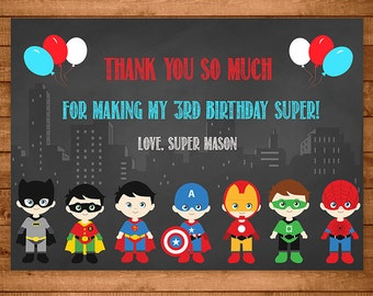 superhero invitation chalkboard theme superhero invite etsy