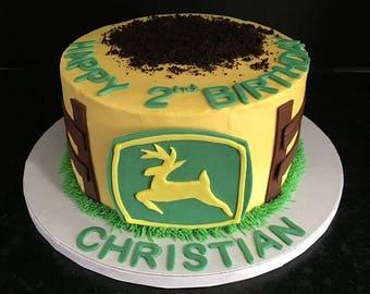 John Deere Cake Topper
