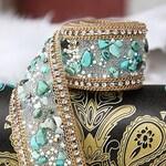 5 Colors of DIY Wedding Dress Accessories Bridal Stone Sash Belt