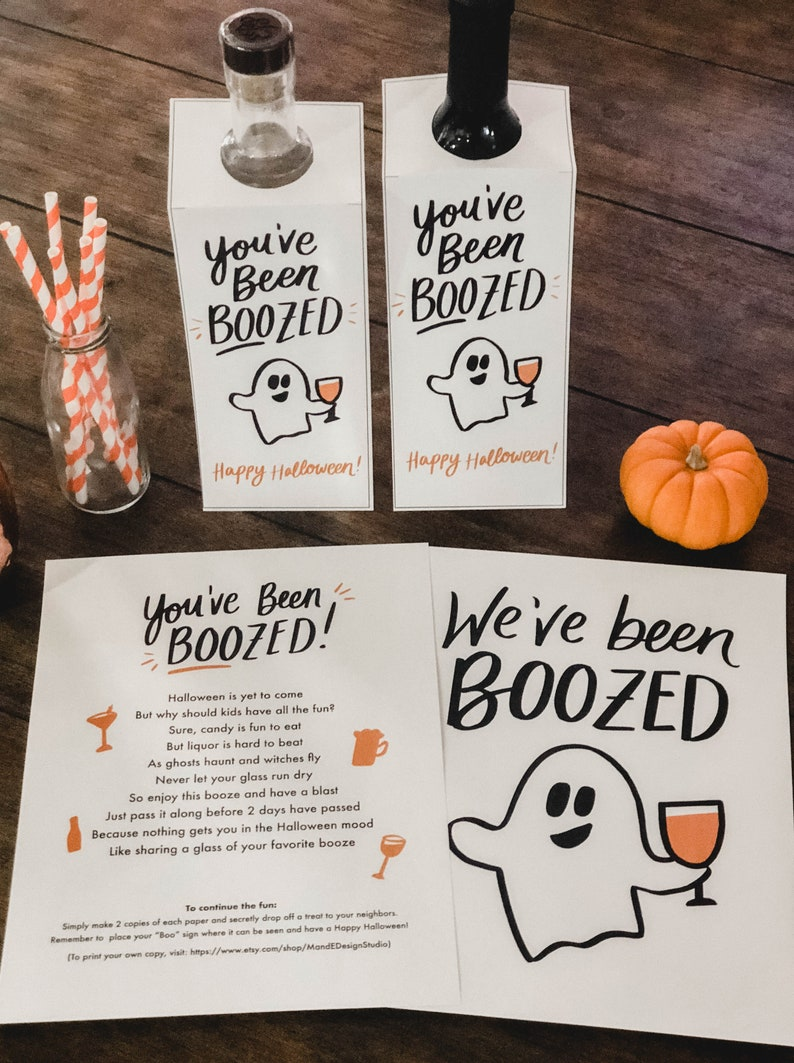 photograph relating to You've Been Boozed Printable called Youve Been Boozed, Weve Been Boozed Printable Prompt Obtain