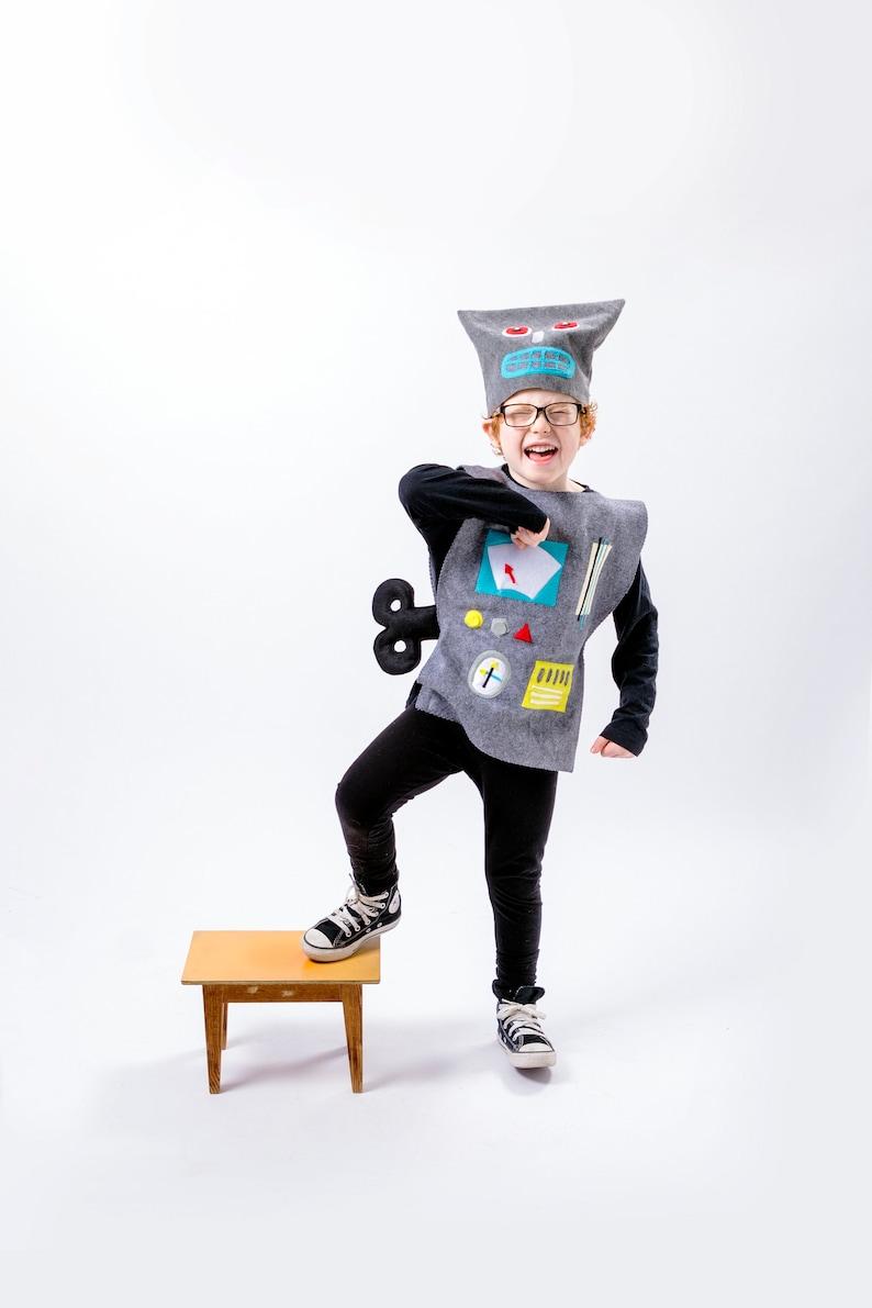 Sweet Robot Costume For Kids