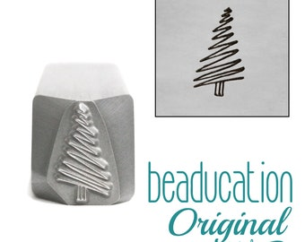 Beadsmith Stamps Steel Stamp CHRISTMAS ORNAMENT Metal Stamp 6mm Christmas or Winter Holiday Jewelry