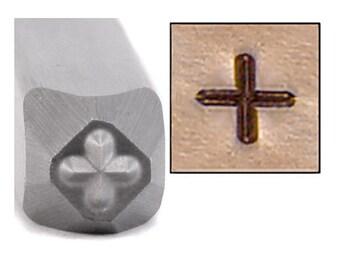 Plus Symbol 2.5mm Metal Design Stamp - Metal Stamping / Punch Tools for Metal Stamped DIY Jewelry, Jewelry Making Tools (DS002)
