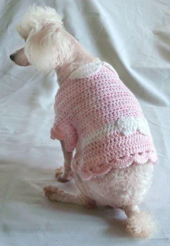 Crochet Pattern Dog Shirt Crochet Pattern Little Bo Etsy