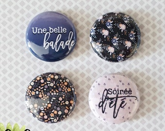 "Badge 1"" - Une belle balade"
