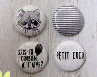 """Badge 1"""" - Petit coco par Véro85"""