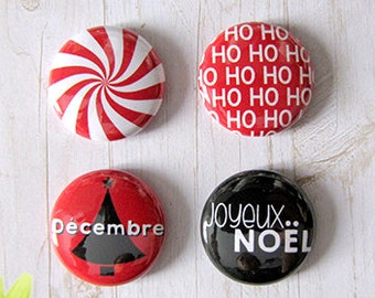 "Badge 1"" - Ho Ho Ho"