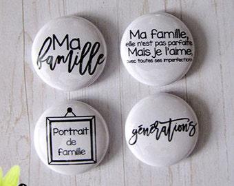"Badge 1"" - Famille"