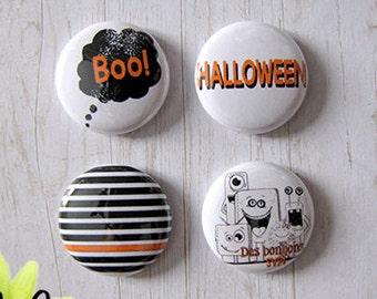 "Badge 1"" - Halloween"
