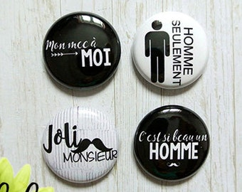"Badge 1"" - Homme"