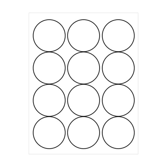 image relating to Printable Round Labels known as 2.5 Inch Sticker Sheet, Spherical Sticker Sheets, 2.5\