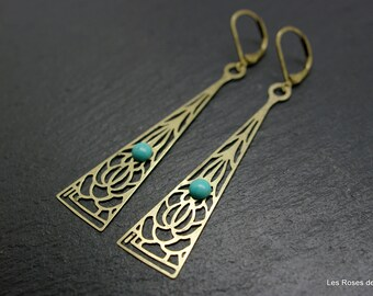 Arthemis, art deco earrings art deco earrings