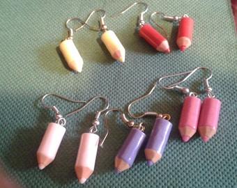 earrings pincil