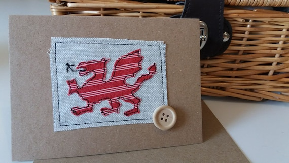 Welsh dragon card welsh greetings card welsh welsh card like this item m4hsunfo