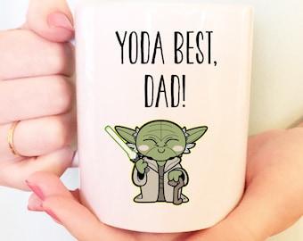 15 oz, Yoda Best Dad Mug Yoda Best Daddy Yoda Best, Funny Mug Father's Day Mug Daddy Gift Dad Gift Coffee Mug Yoda best Daddy