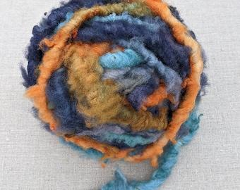 Super Bulky Hand Spun Yarn for Weaving and Fiber Art
